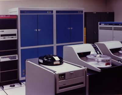 The Goodyear Aerospace Massively Parallel Processor, at NASA/GSFC sometime in the 1980s.